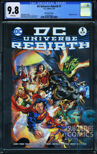 DC UNIVERSE REBIRTH #1 MIDNIGHT RELEASE VARIANT - FIRST PRINT - CGC 9.8 - HOT