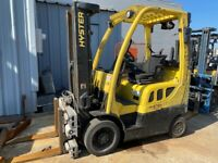 2011 Hyster S55FTS 5500lbs Used Forklift LP Gas Triple Mast