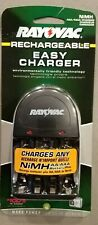 Rayovac Easy Battery Charger for AA / AAA Rechargeable Batteries. Recharges 4