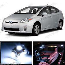 Toyota Prius 04-15 Interior Trunk Map Step Upgrade White LED Kit Light 8 pieces