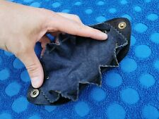 Vintage Leather Coin Purse Wallet Pouch - Unisex Mens Womens