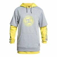 Dc shoes dryden dwr 3 in 1 hoodie warm olive 2020 felpa snowboard new xs s m ...