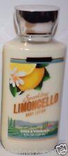 Bath & Body Works Signature SPARKLING LIMONCELLO Body lotion SHEA VITAMIN E
