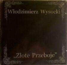VLADIMIR VYSOTSKY - ZLOTE PRZEBOJE GOLDEN HITS (2002)  RARE CD