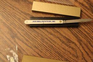Jack Mall Potato Co. advertising knife.