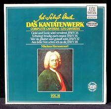Bach Kantatenwerk vol.10 Harnoncourt Pocket edition DMM  2 x LP M, CV NM -