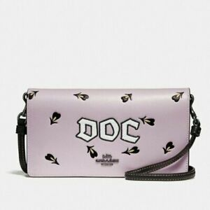 Coach x Disney Snow White DOC Crossbody Pink Purse NEW