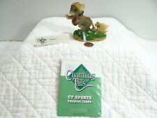 Charming Tails Touchdown Mouse Figurine Football 87/806 Sports Trading Card Le