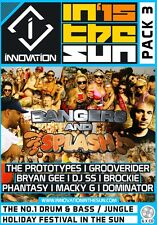 Innovation In The Sun 2015 - Pack 3 - Drum & Bass 6 x CD Pack
