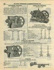 1932 PAPER AD Monarch Line Kerosene Engine Gas Gasoline Webster Magneto