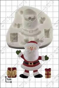 Silicone mould Santa and Gifts | Food Use FPC Sugarcraft FREE UK shipping!