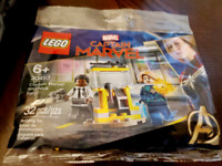 Lot of 5 LEGO Marvel - CAPTAIN MARVEL 30453 Captain Marvel and Nick Fury Polybag