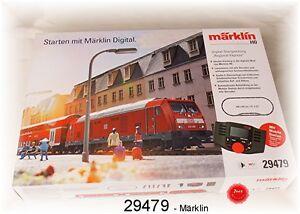 """Märklin 29479 Kit de Démarrage Numérique """" Régional Express Ms 60657 # Neuf '"""