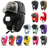Men Women Winter Camo Fleece Balaclava Hat Ski Hunting Neck Face Mask Hood Cap C