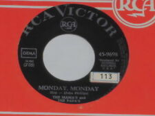 "THE MAMA'S AND THE PAPA'S -Monday, Monday- 7"" 45"