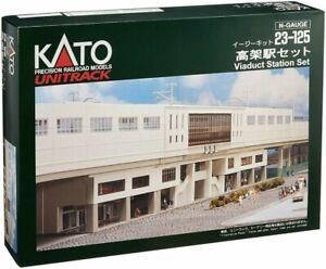 Kato N Gauge Elevated Station Set 23-125 Model Railroad Supplies Figure