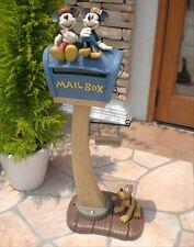 Disney Post Mickey & Minnie Sd-0336 Pluto letter box mailbox F/S from japan