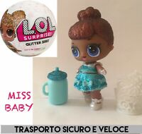 LOL Surprise! 🌟Doll MISS BABY • Serie GLITTER New  Omg Top BLING Glam Lil G-012