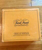 ❤️ Vintage 1984 Trivial Pursuit Genus II Edition Trivia Game Subsidiary Card Set