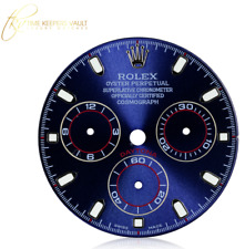 Blue Daytona Dial Custom Made to Fit Rolex Movement Stainless Steel