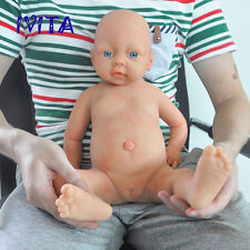 51cm Silicone Reborn Baby Girl Toddler Doll Realistic Silikon Mädchen Puppen