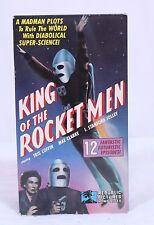 King of the Rocketmen VHS Republic Home Video 12 Episodes Tris Coffin Mae Clarke