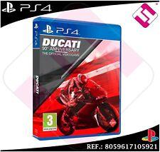 DUCATI 90TH ANIVERSARIO JUEGO PS4 F�SICO NUEVO PRECINTADO PLAYSTATION 4 MOTOS