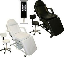 Black Electric Tattoo Massage Facial Table Bed Chair Barber Beauty Spa Salon