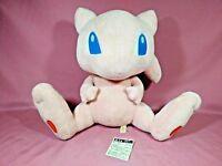 "Rare Pokemon MEW DX Pokedoll LARGE Plush Toy Original Center 2005 Japan TAG 12"""