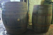 More details for large huge giant scotch whiskey oak wooden bourbon barrel ice bath plunge pool