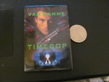 "Claude Van Damme ""Time Cop"" movie pinback pin vintage"