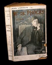 [DANDYSME - DECADENTISME] LORRAIN (Jean) - Monsieur de Phocas / Astarté. EO.