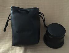 Olympus Teleconvertor Lens X 1.5 Camera Accessory Japan Pouch Caps
