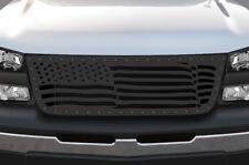 Custom Steel Grille for Chevy Silverado 1500/2500 2003-2007 Truck AMERICAN FLAG