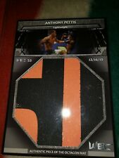 UFC Anthony Pettis WEC THE KICK Huge Mat Card Topps