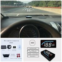 Digital Car OBD2 Head Up Display HUD Speedometer Projector KMH/MPH Speed Alarm