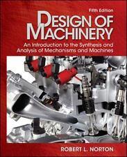 Design of Machinery by Robert Norton (2011, Hardcover / DVD)