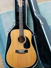 More details for 1970's fender f55 12 string guitar with hard case