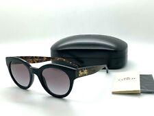 NEW Coach  Sunglasses HC8265 (L1084) 500211 BLACK / TORTOISE  51-23-140MM