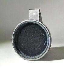 Antique / Vintage ⌀45 Velvet Lined Leather (?) Cap for Brass Lens