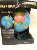 Replogle Globes Day/Night World Globe Night Constellation - 12 IN GOOD CONDITION