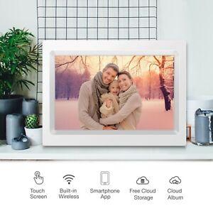 "Alpha Digital 10"" Cloud Frame IPS Touch Screen App Manage 4000mAh Battery KS1016"