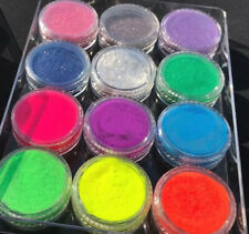 Bright Neon Matte &  Shimmer Pigments Eyeshadow  Palette 12  luxurious Colors