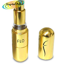 FLO Fragrance Refillable Atomiser Travel Perfume Bottle GOLD 4.7ml