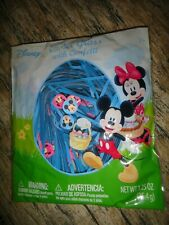 New Disney Mickey Minnie Mouse gift bag basket grass with Confetti boy girl blue