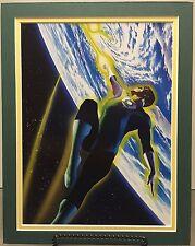 GREEN LANTERN By ALEX ROSS Pro Double Matted Print Kingdom Come DC Comics JLA