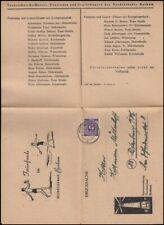 GERMANY 1947 FOLDED PRINTED MATTER LIGHTHOUSE ILLUSTRATION (ID:355/D11147)