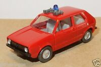 MICRO WIKING HO 1/87 VW VOLKSWAGEN GOLF I SECOURS POMPIERS FIRE BOMBEIROS c