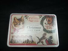 Pottery Barn Vintage Christmas Cat Dog Animal Gift Tags 36 Tags #1479