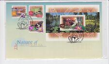 1997 Nature Australia $10 Mini Sheet Australia Fdc Jabiru Northern Territory Nt